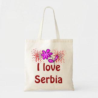 I love Serbia Tote Bags