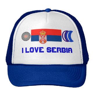 I love Serbia Cap