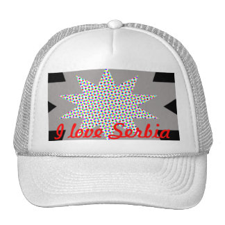 I love Serbia Mesh Hats
