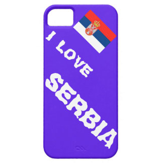 I love Serbia iPhone 5 Cover