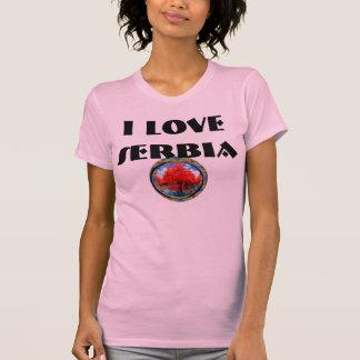 I love Serbia T-shirts