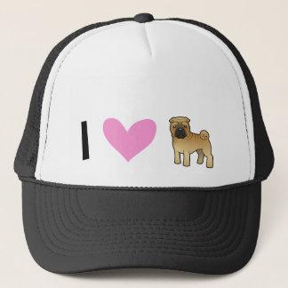 I Love Shar Pei Trucker Hat