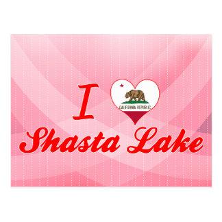 I Love Shasta Lake, California Postcard