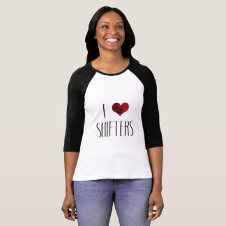 I Love Shifters – Paranormal Romance Shirt