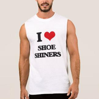 I Love Shoe Shiners Sleeveless Tees