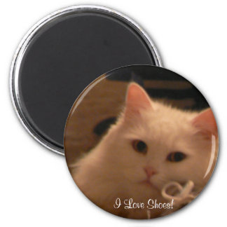 I Love Shoes! 6 Cm Round Magnet