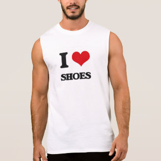 I Love Shoes Sleeveless T-shirt