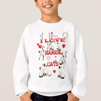 I LOVE SIAMESE CATS  T-Shirt