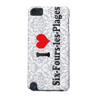 I Love Six-Fours-les-Plages, France iPod Touch (5th Generation) Cases