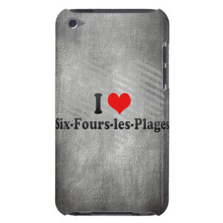 I Love Six-Fours-les-Plages, France iPod Touch Case-Mate Case