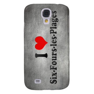 I Love Six-Fours-les-Plages, France Galaxy S4 Cover