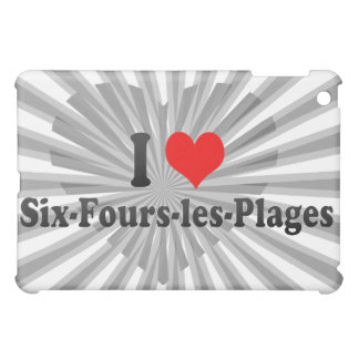 I Love Six-Fours-les-Plages, France Case For The iPad Mini
