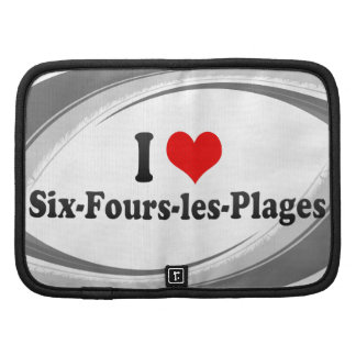 I Love Six-Fours-les-Plages, France Folio Planners