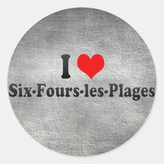 I Love Six-Fours-les-Plages, France Sticker