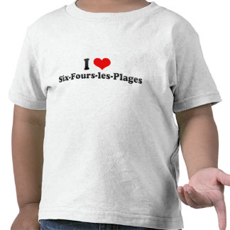 I Love Six-Fours-les-Plages, France T-shirts