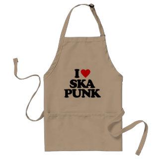 I LOVE SKA PUNK STANDARD APRON