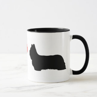 I Love Skye Terriers Mug