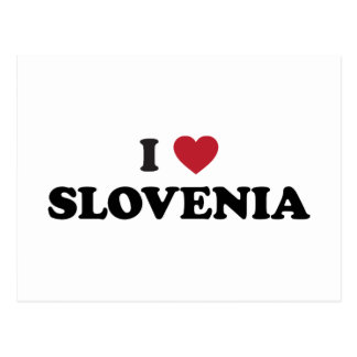 I Love Slovenia Postcard