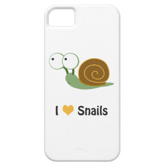 I love snails iPhone 5 case