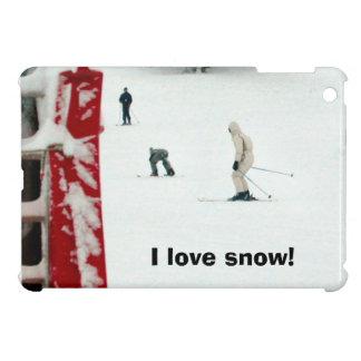 I love snow! iPad mini cover