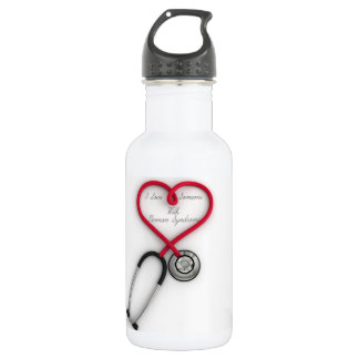 I Love Someone With Noonan syndrome 532 Ml Water Bottle