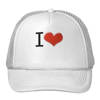 I Love souvenir Cap