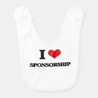 I love Sponsorship Bib
