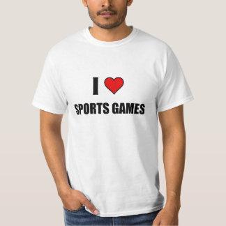 I love sport games T-Shirt