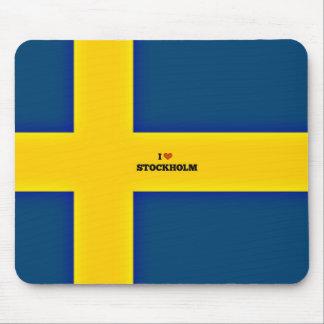 I Love Stockholm Mouse Pad