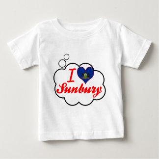 I Love Sunbury, Pennsylvania Baby T-Shirt