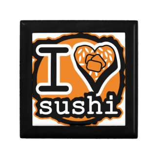 I LOVE SUSHI SMALL SQUARE GIFT BOX