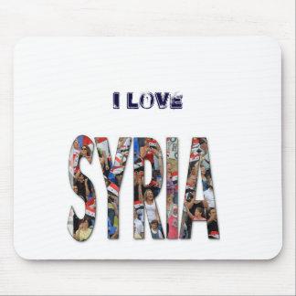 I love Syria Mouspad Mouse Pad