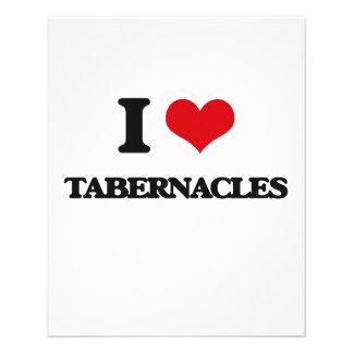 I love Tabernacles 11.5 Cm X 14 Cm Flyer