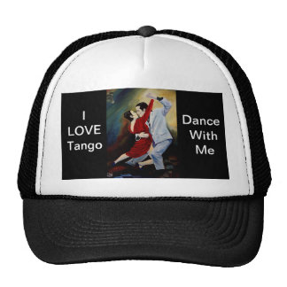 I Love Tango cap