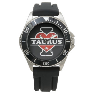 I Love Taurus Watch