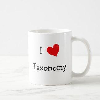 I Love Taxonomy Coffee Mug