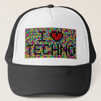 I Love Techno Trucker Hat