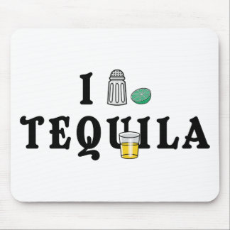 I Love Tequila Mouse Pad