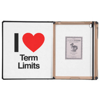 i love term limits cover for iPad
