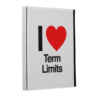 i love term limits iPad folio cover