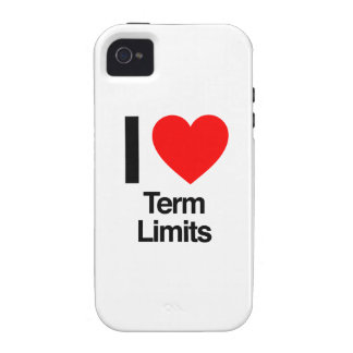 i love term limits Case-Mate iPhone 4 covers