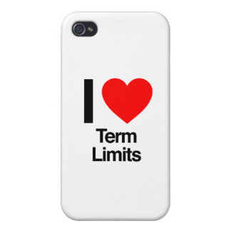 i love term limits iPhone 4 cover