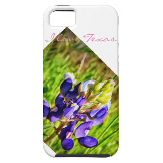 I Love Texas Blue bonnet iPhone 5 Case
