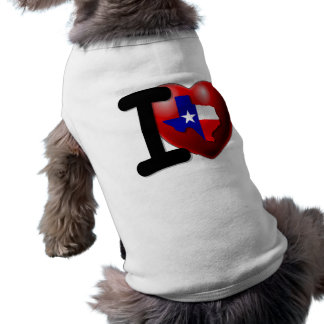 I Love Texas - The Lone Star State Shirt