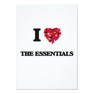 I love THE ESSENTIALS 13 Cm X 18 Cm Invitation Card