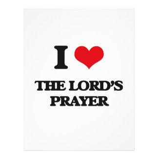 I Love The Lord'S Prayer 21.5 Cm X 28 Cm Flyer