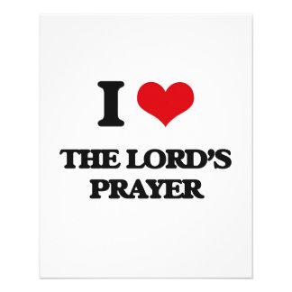 I Love The Lord'S Prayer 11.5 Cm X 14 Cm Flyer