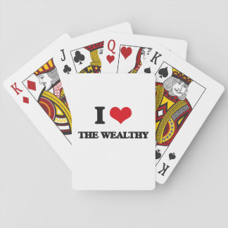 I love The Wealthy Poker Cards