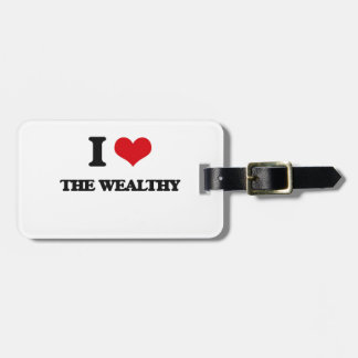 I love The Wealthy Tag For Luggage