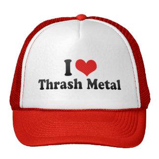 I Love Thrash Metal Cap